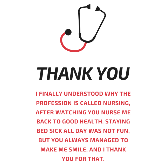 Thank you nurse wishes