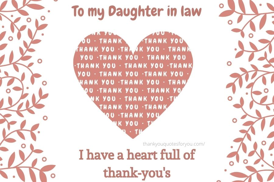 We thank God every day for blessing us with a daughter like you.