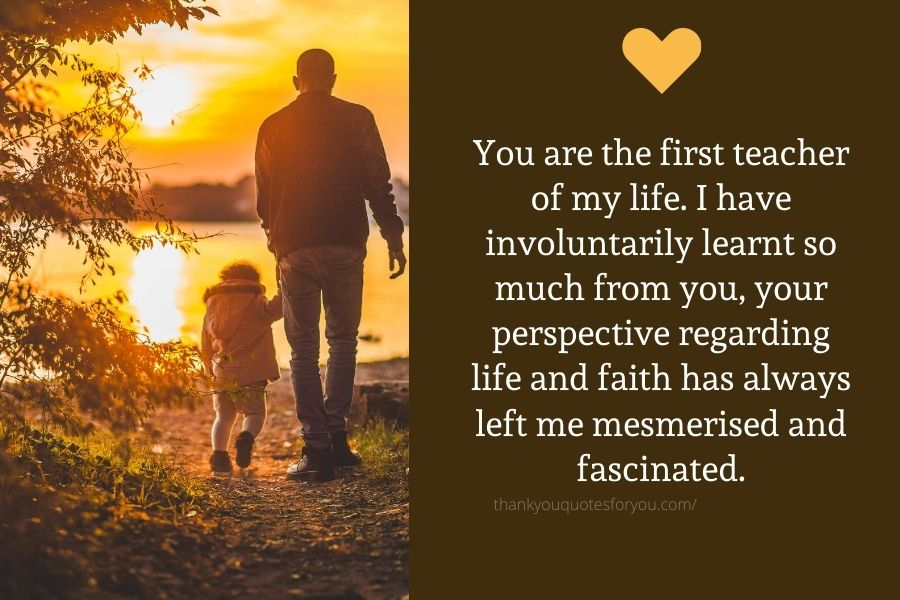 Thank you for all the compromises and sacrifices you have ever made to keep our family afloat and happy.