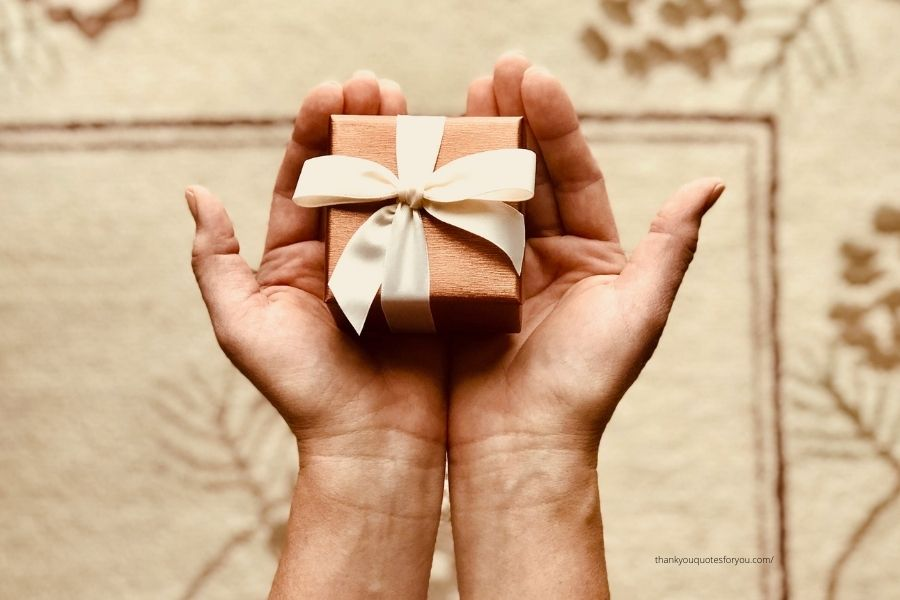 Thank you Messages for unexpected gift