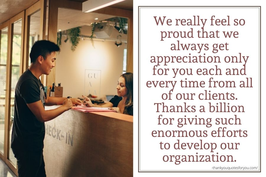 We honestly show our thanks to you.