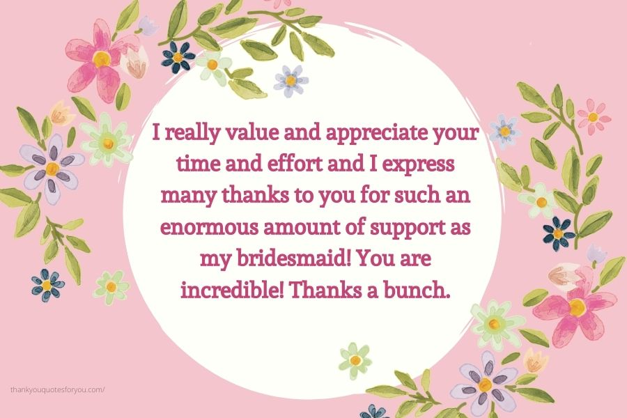 Thank you for everything dear