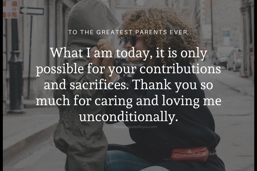 Thank you so much for caring